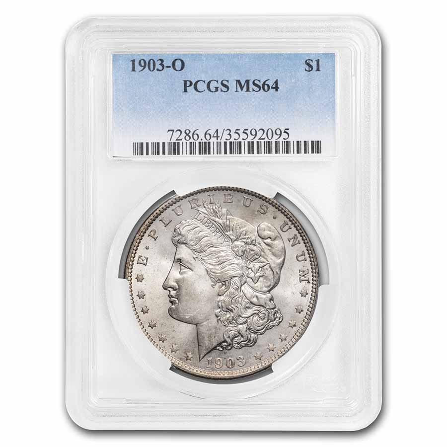 1903-O Morgan Dollar - MS-64 PCGS