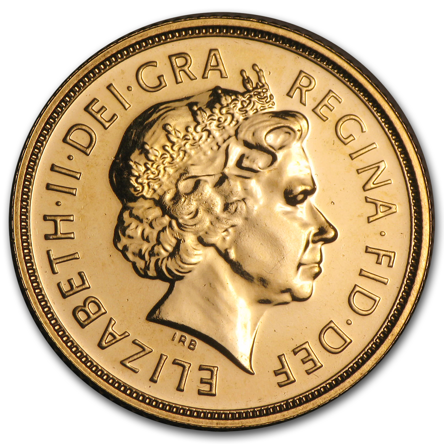 2000-2014 Great Britain Gold Sovereign Elizabeth II BU
