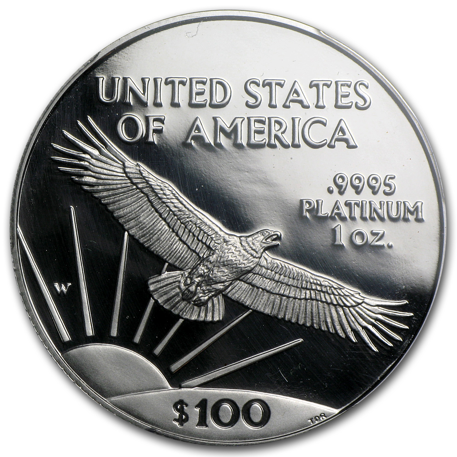 1997-W 1 oz Proof Platinum American Eagle PR-69 PCGS