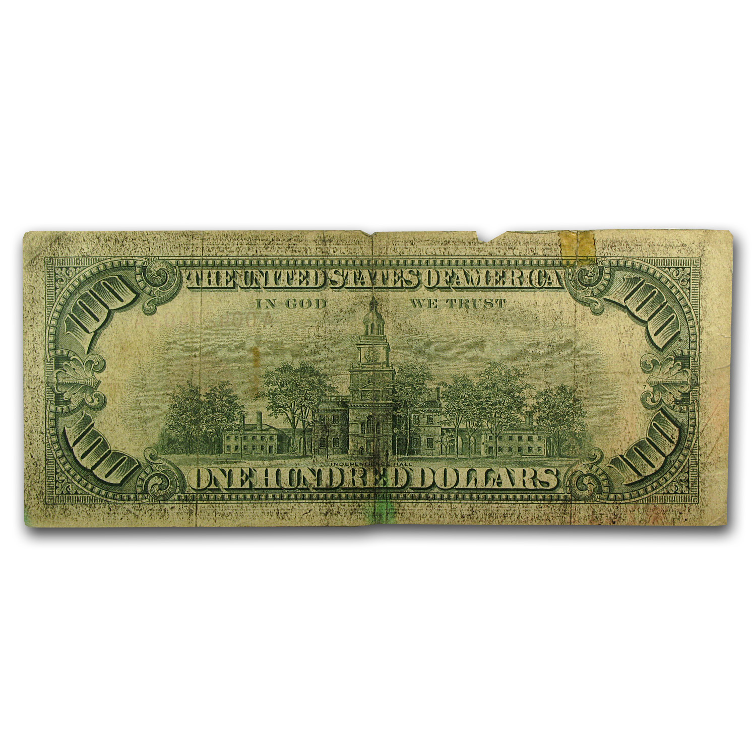 1966 $100 U.S. Note Red Seal VG/Fine
