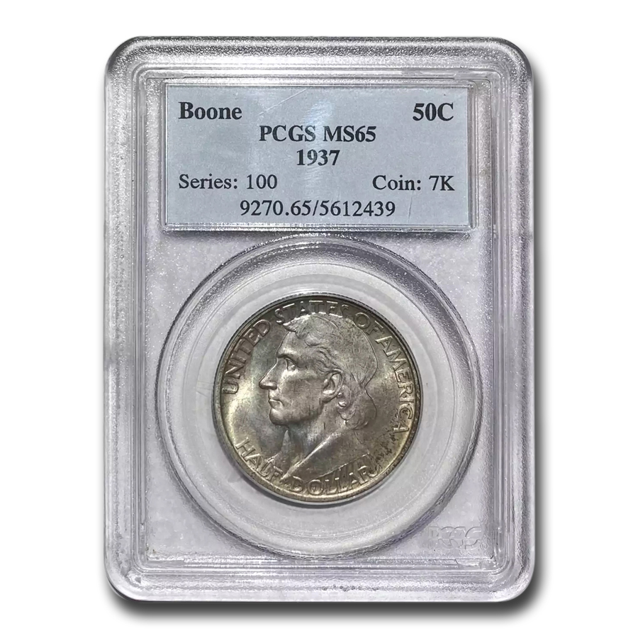 1937 Boone MS-65 PCGS