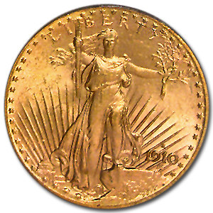 1910-S $20 St. Gaudens Gold Double Eagle - MS-64 PCGS