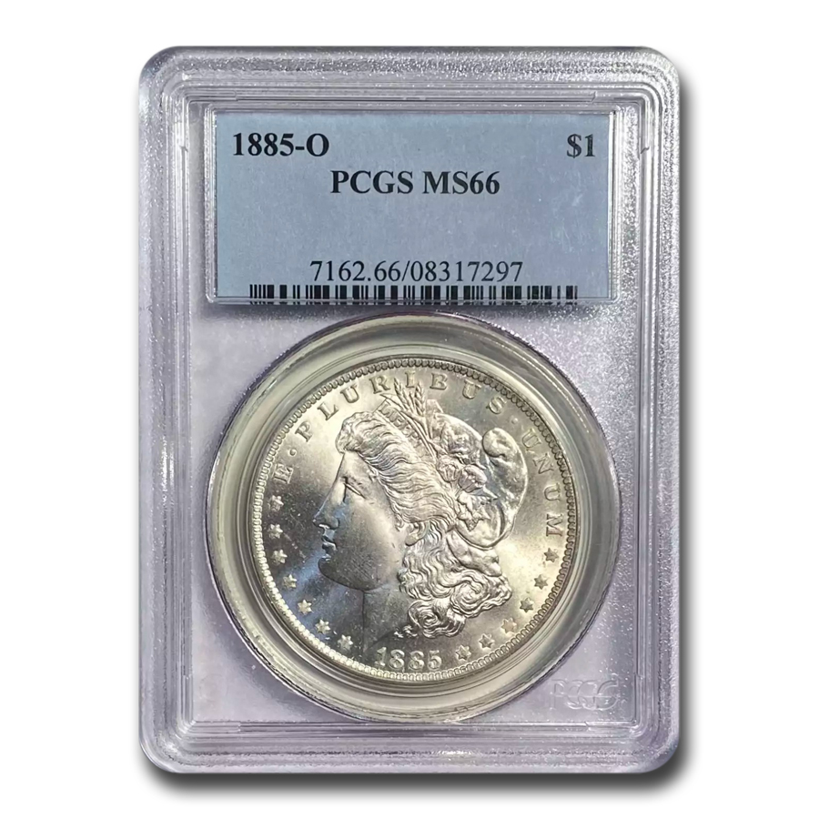 1885-O Morgan Dollar - MS-66 PCGS