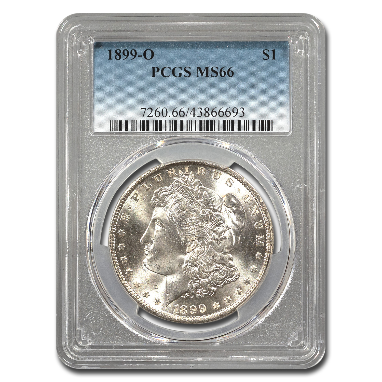 1899-O Morgan Dollar MS-66 PCGS