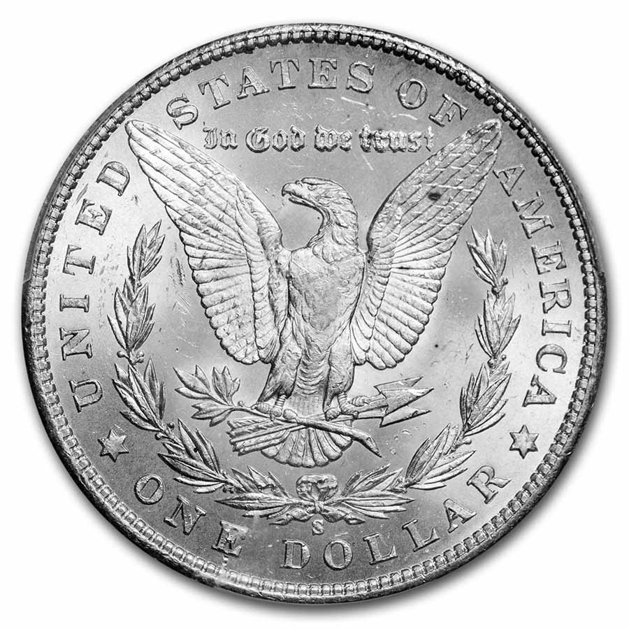 1901-S Morgan Dollar MS-63 PCGS