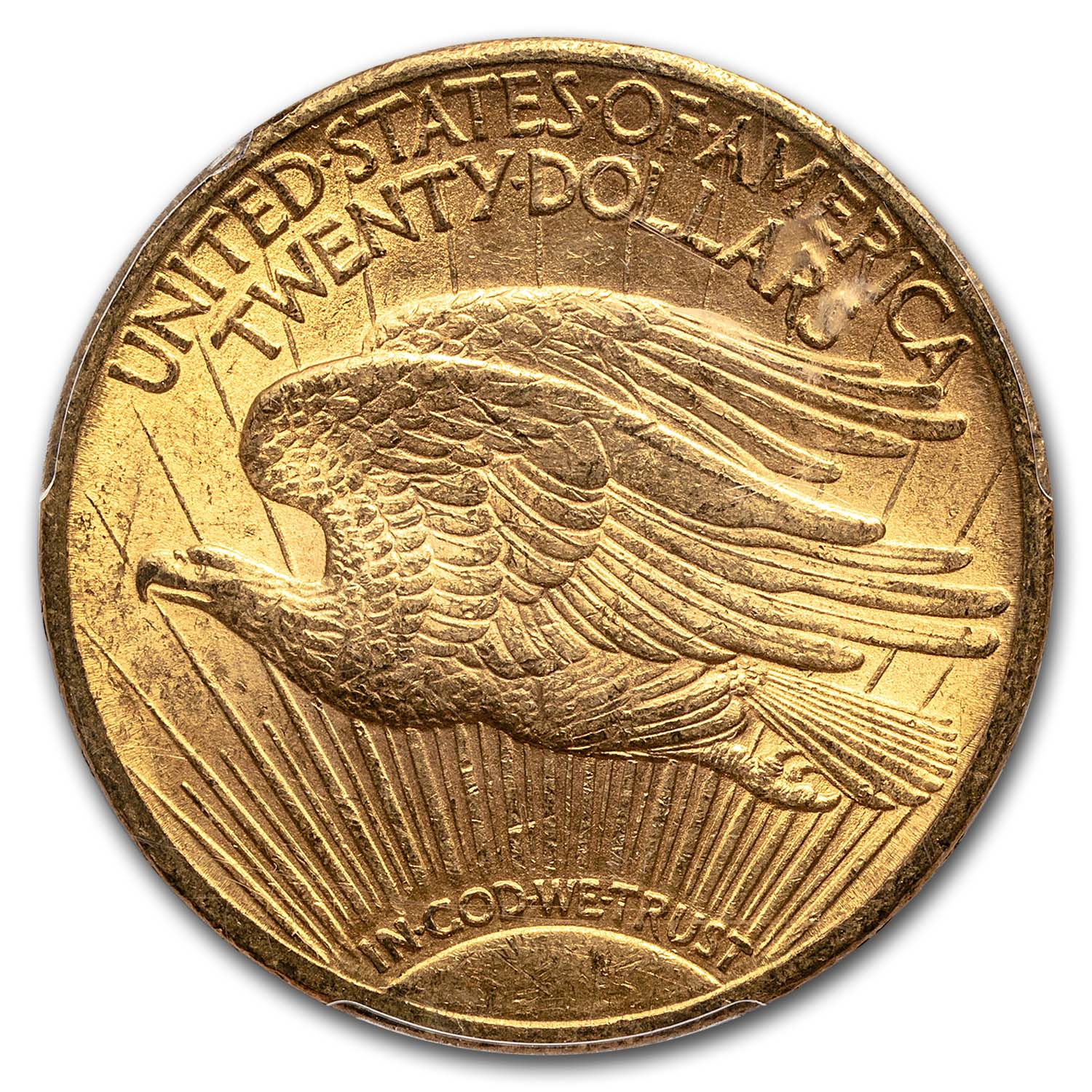 1911 $20 St. Gaudens Gold Double Eagle - MS-62 PCGS