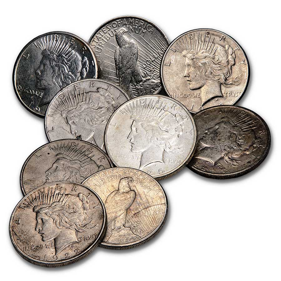 Morgan &/or Peace Silver Dollars (Cull)