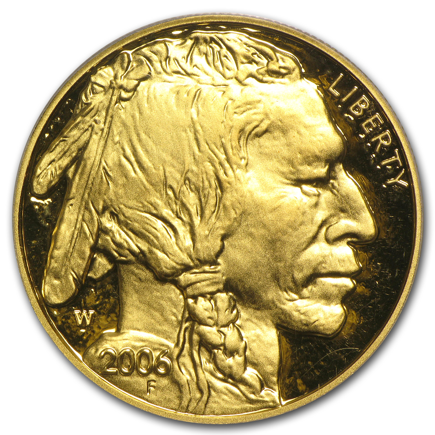 2006-W 1 oz Proof Gold Buffalo PR-70 PCGS