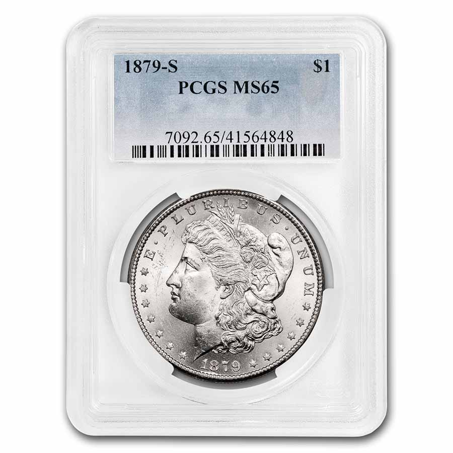 1879-S Morgan Dollar MS-65 PCGS