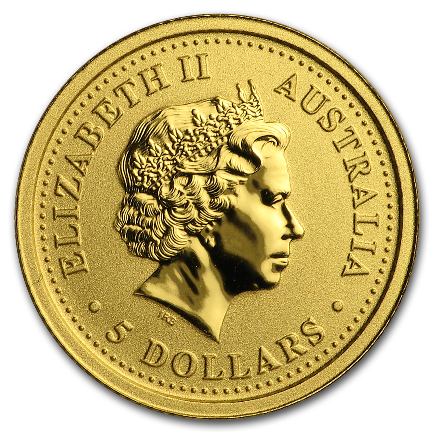 2007 1/20 oz Gold Australian Nugget
