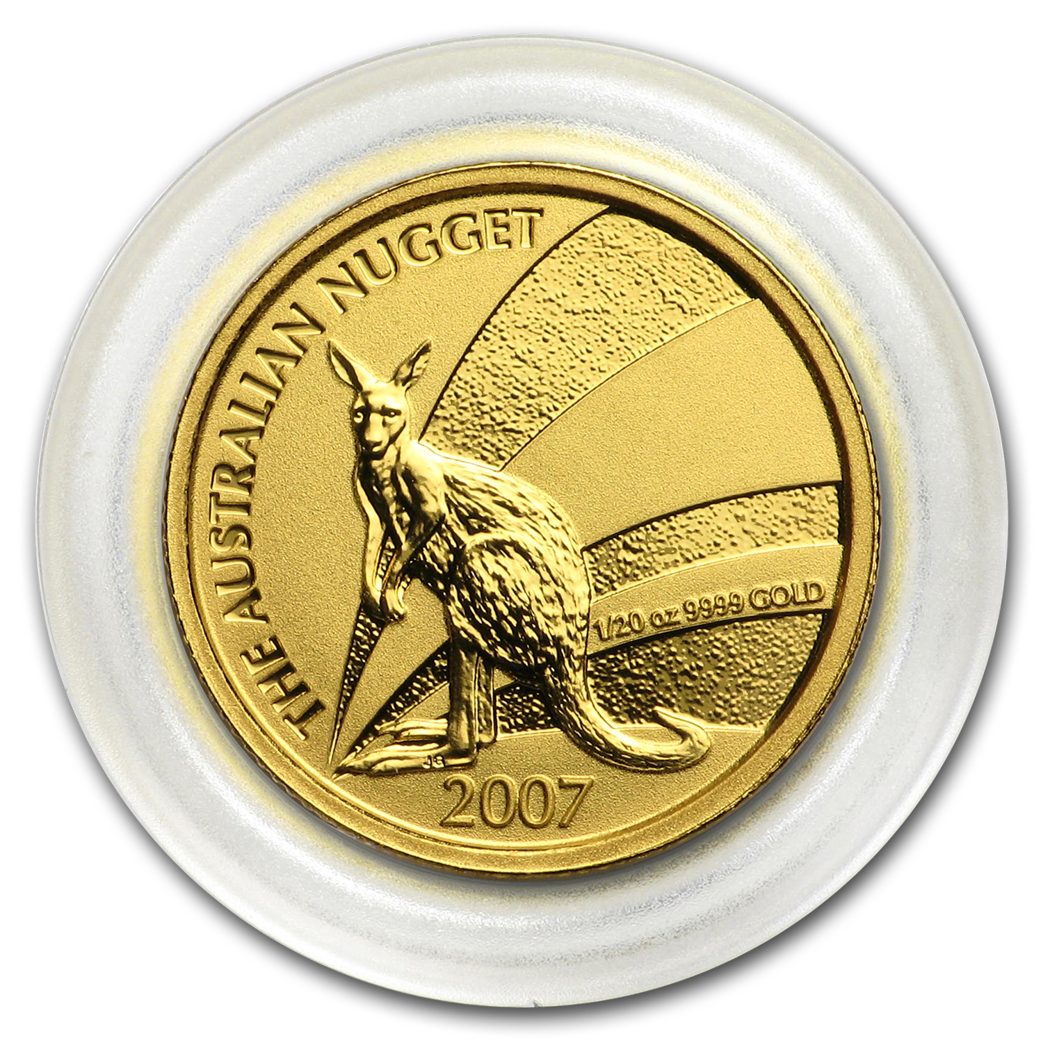 2007 Australia 1/20 oz Gold Nugget