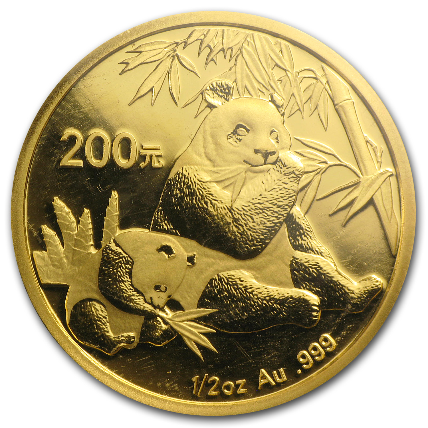 2007 1/2 oz Gold Chinese Panda BU (Sealed)