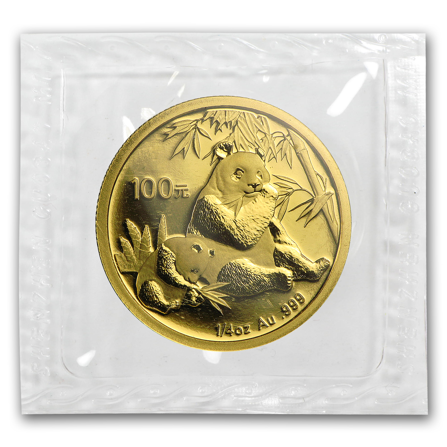 2007 1/4 oz Gold Chinese Panda BU (Sealed)