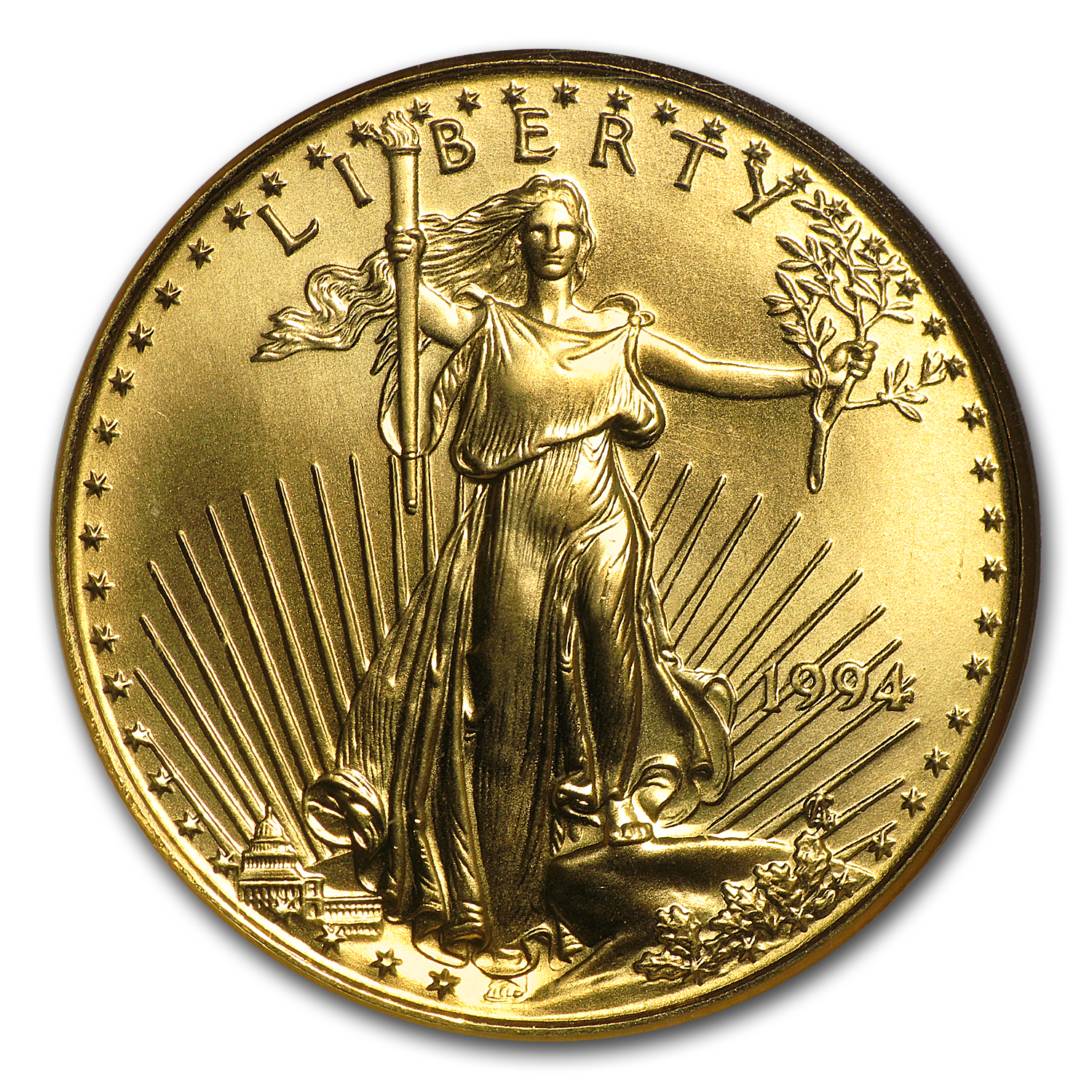 1994 1/2 oz Gold American Eagle MS-69 NGC