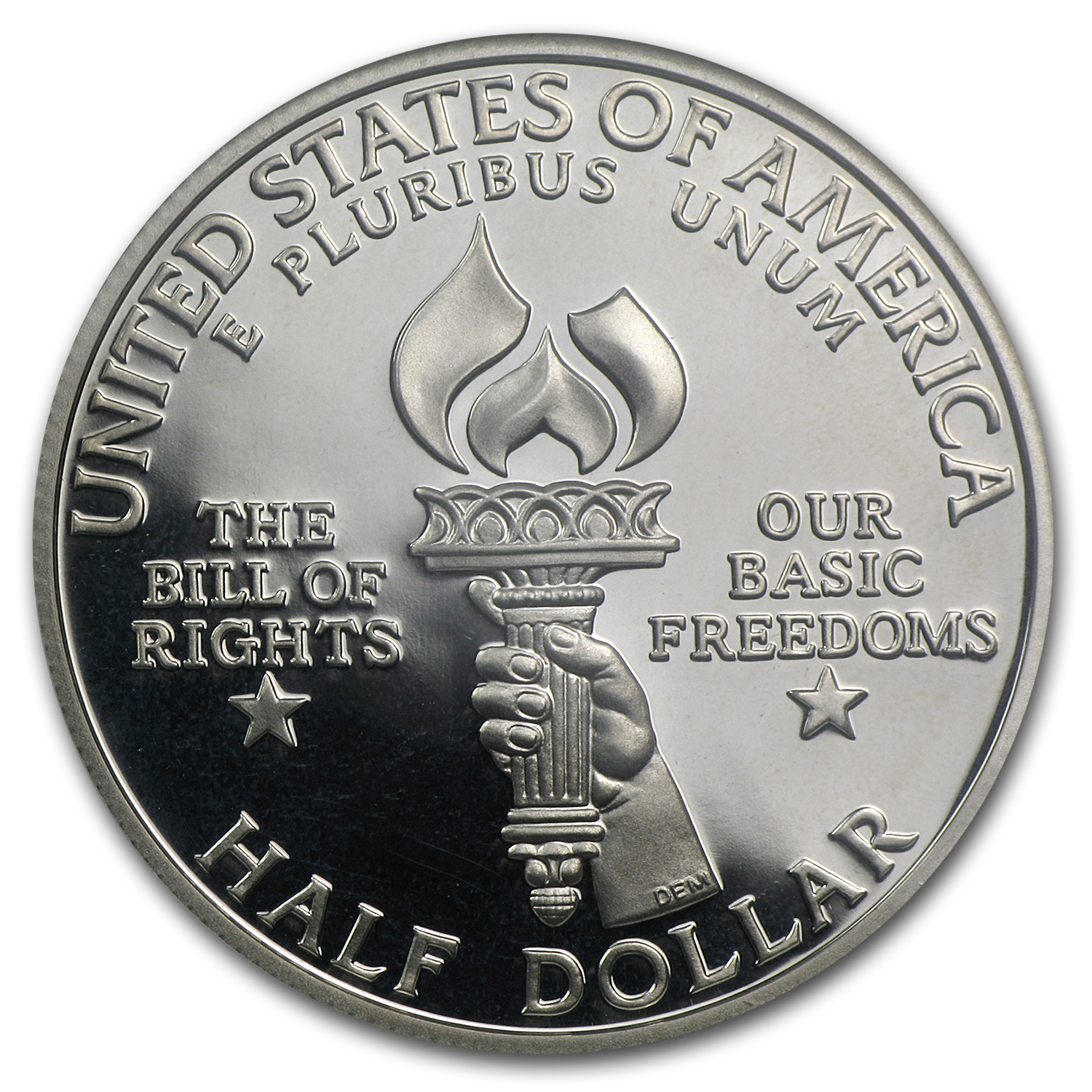 1993-S Bill of Rights Half Dollar Silver Commem PF-69 NGC