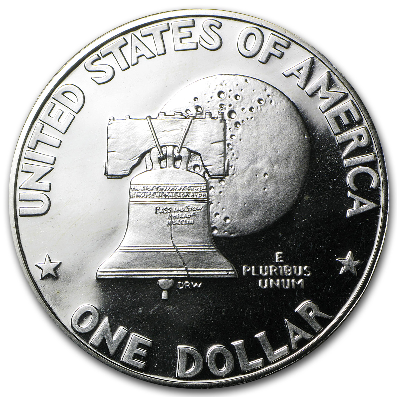 1976-S Eisenhower Dollar 40% Silver - Gem Proof