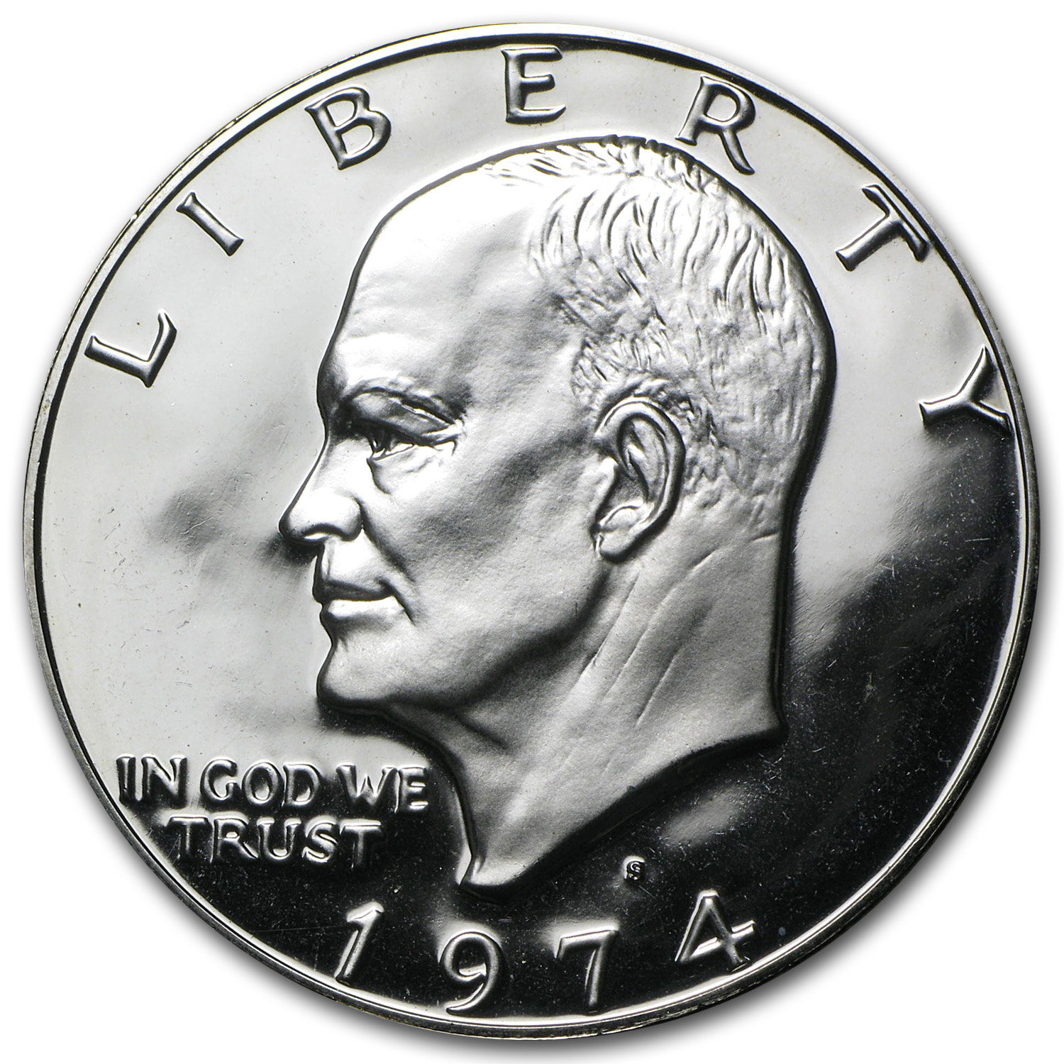 1974-S 40% Silver Eisenhower Dollar Gem Proof