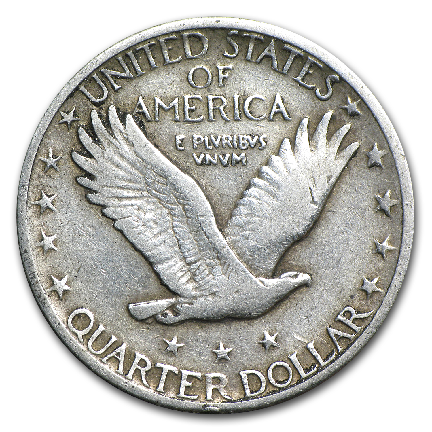 1924-D Very Fine Details - Cleaned - Standing Liberty Quarter