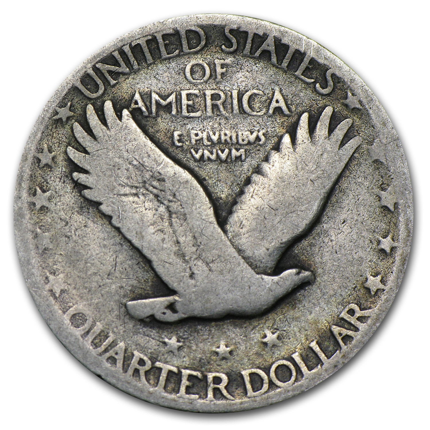 1927-S Standing Liberty Quarter - Very Good