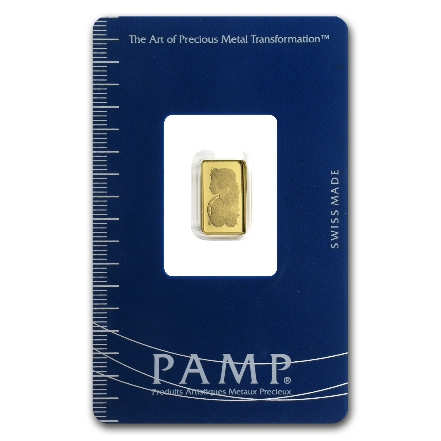 1 gram Gold Bars - Pamp Suisse (In Assay)