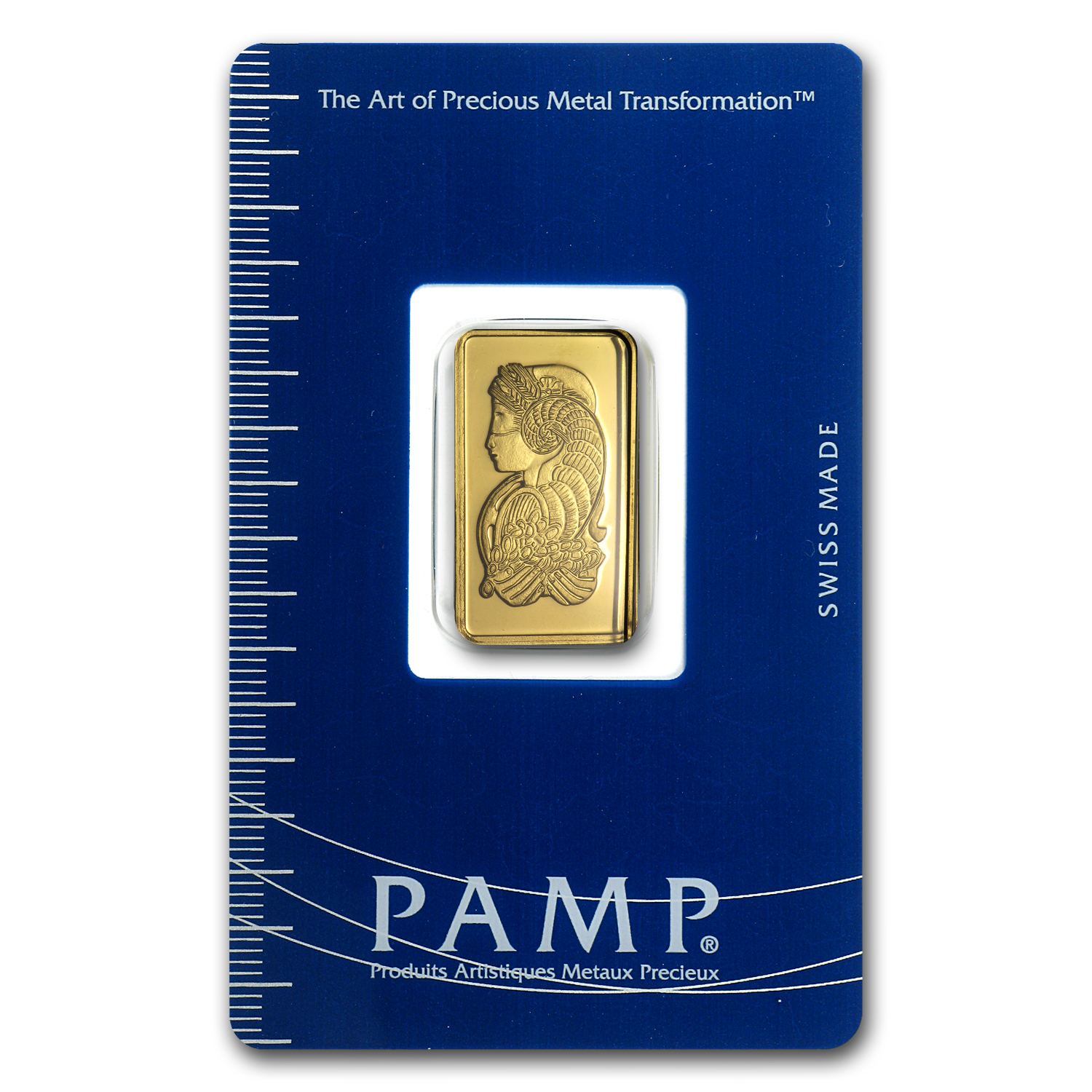 2 5 Gram Gold Bar Pamp Suisse Lady Fortuna In Assay