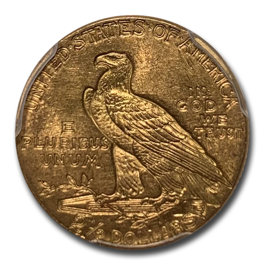 1913 $2.50 Indian Gold Quarter Eagle - MS-63 PCGS