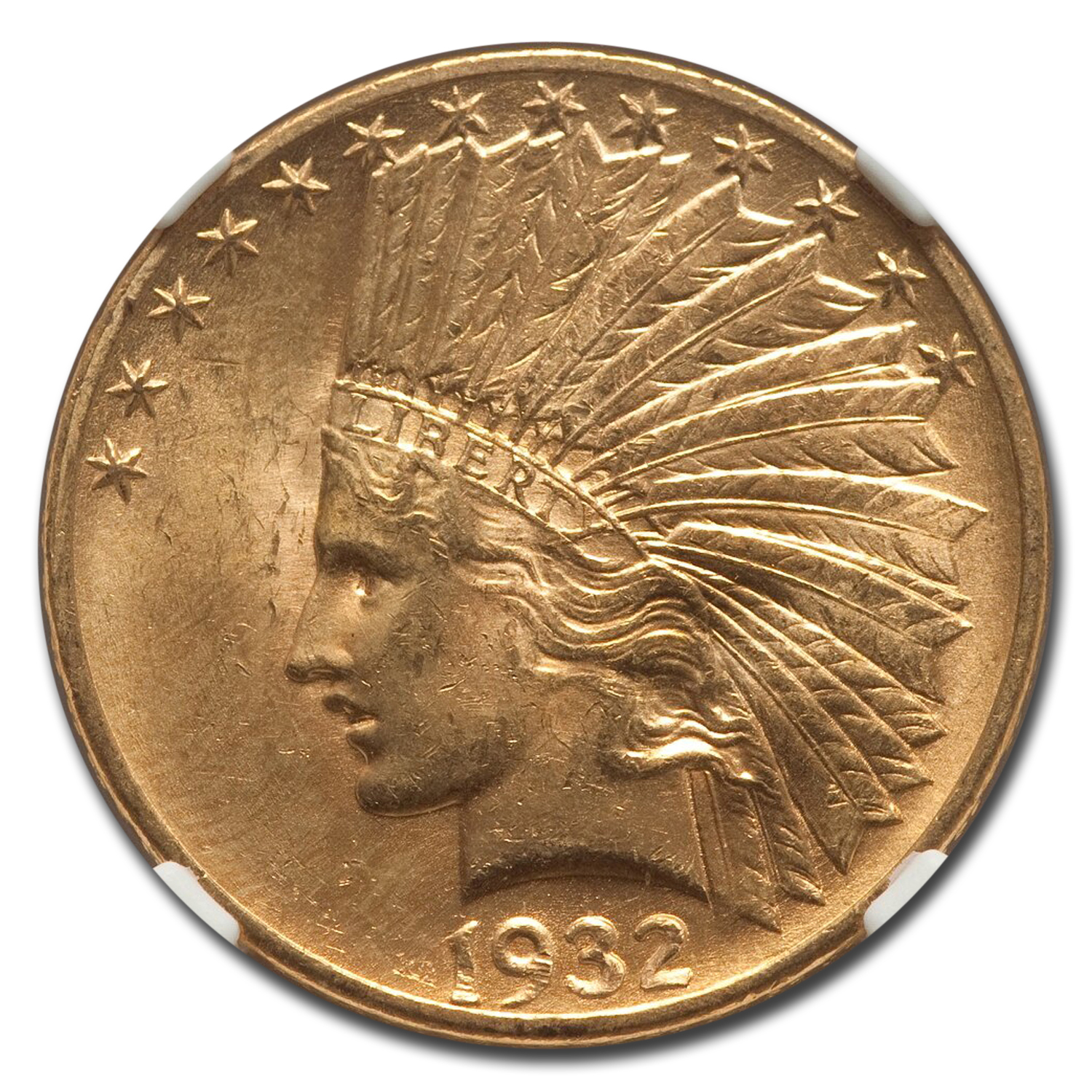 1932 $10 Indian Gold Eagle MS-65 NGC