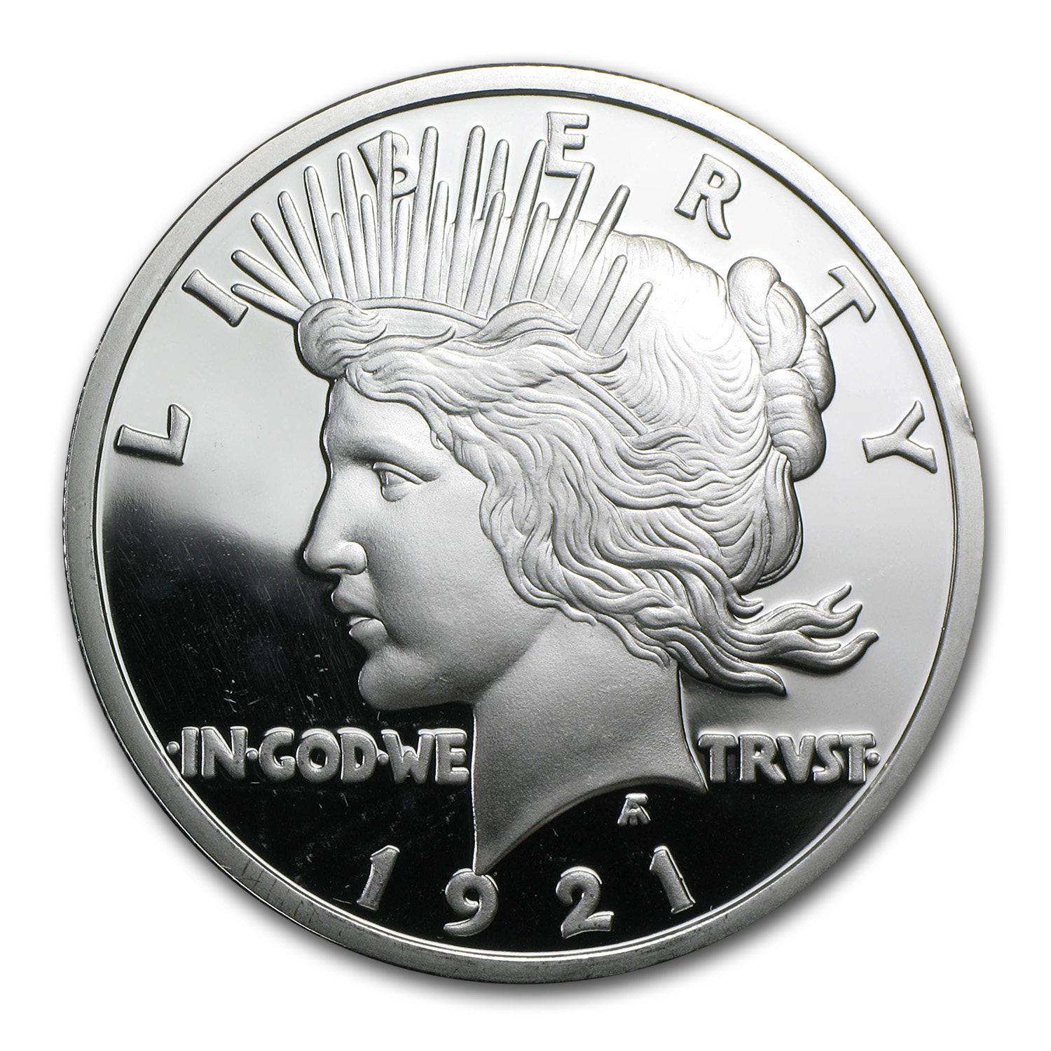 2 oz Silver Round - Peace Dollar (Replica)