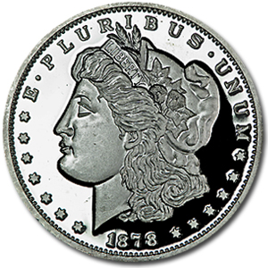 2 oz Silver Round - Morgan Dollar (Replica)