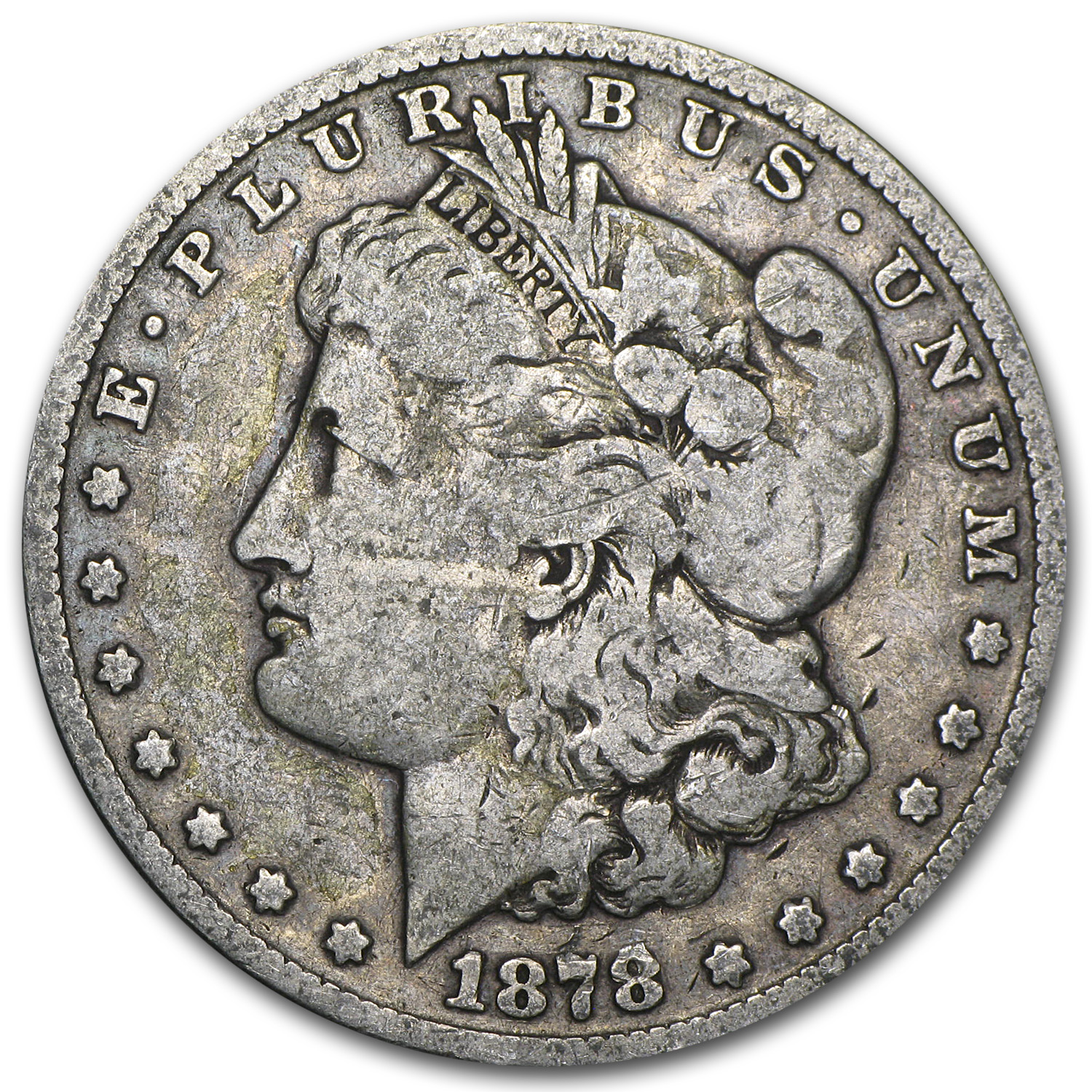 1878-CC Morgan Dollar - Very Good
