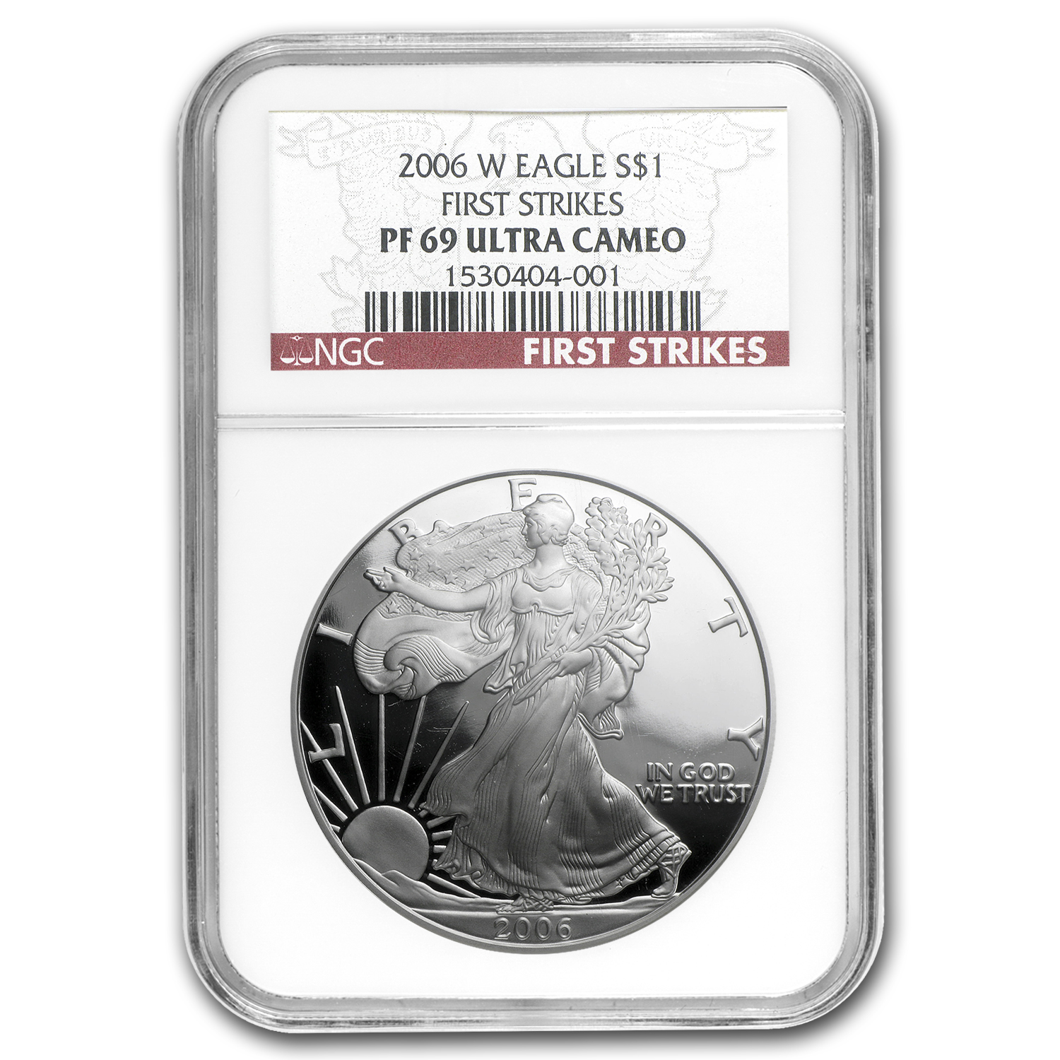 2006-W Proof Silver American Eagle PF-69 NGC (FS)