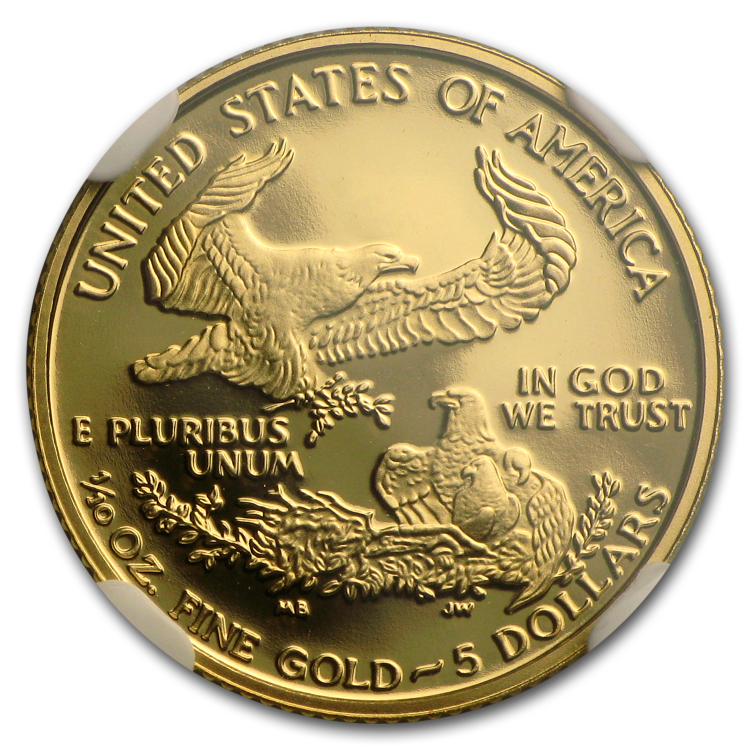 1998-W 1/10 oz Proof Gold American Eagle PF-70 NGC