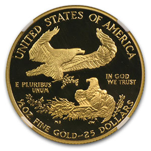 1994-W 1/2 oz Proof Gold American Eagle PF-70 NGC