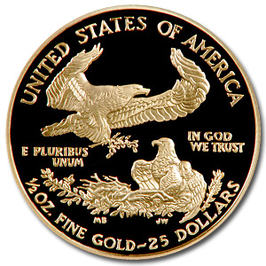 2002-W 1/2 oz Proof Gold American Eagle PF-70 NGC