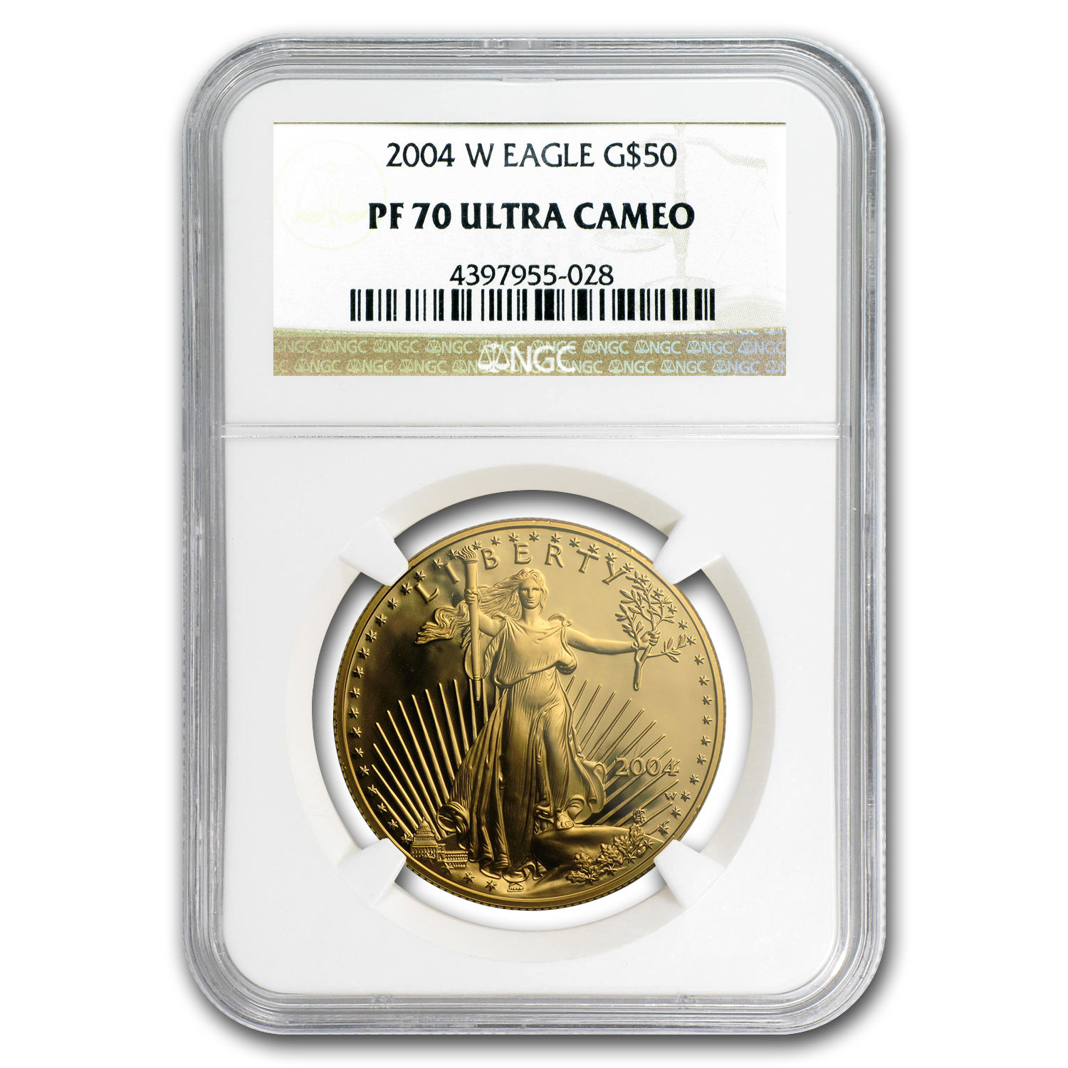 2004-W 1 oz Proof Gold American Eagle PF-70 NGC