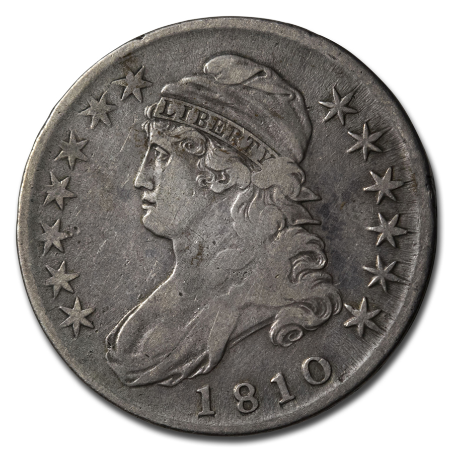 1810 Capped Bust Half Dollar Fine