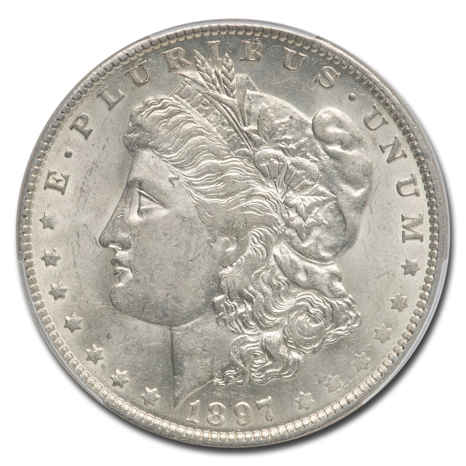 1897-O Morgan Dollar AU-58 PCGS