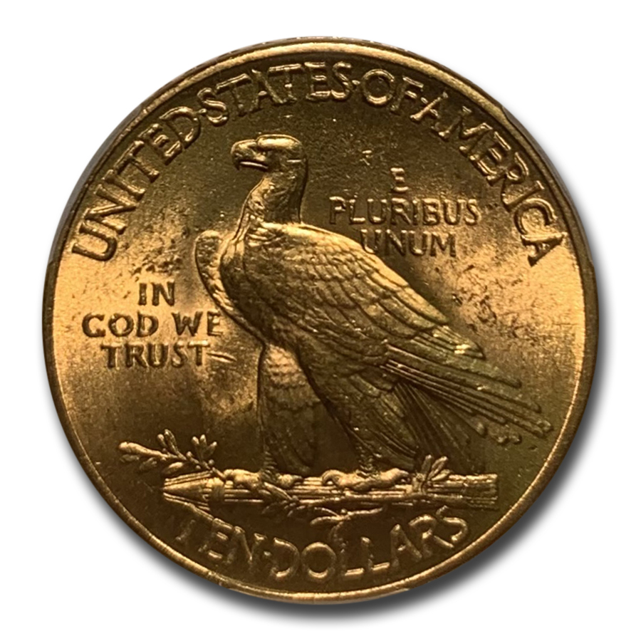 1912 $10 Indian Gold Eagle MS-63 PCGS