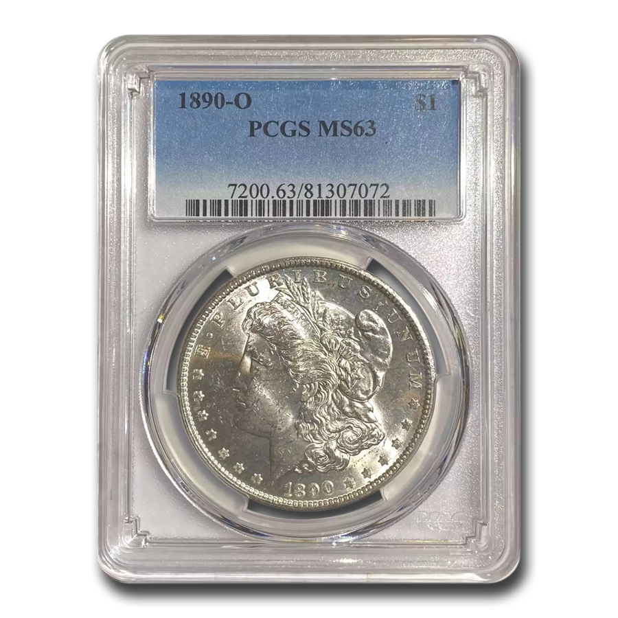 1890-O Morgan Dollar MS-63 PCGS