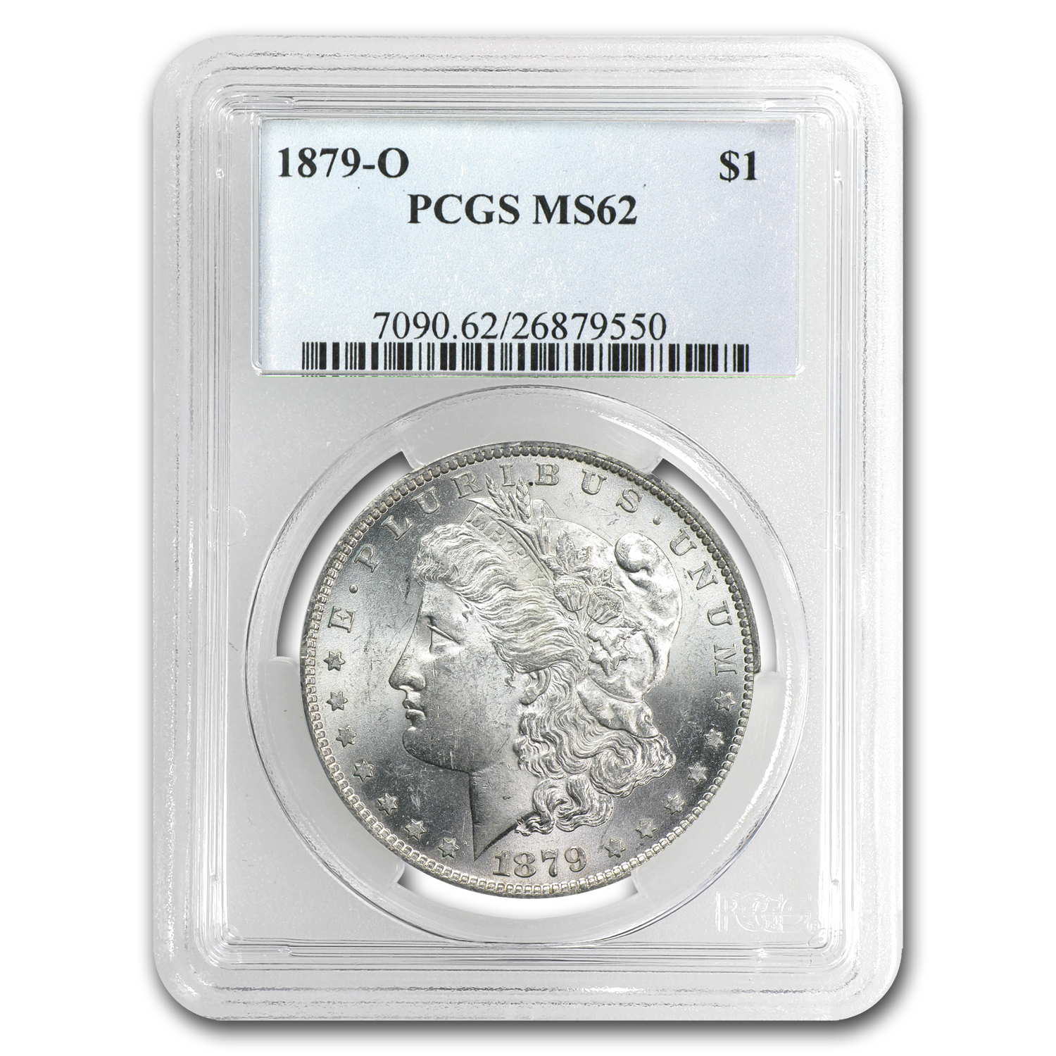 1879-O Morgan Dollar - MS-62 PCGS