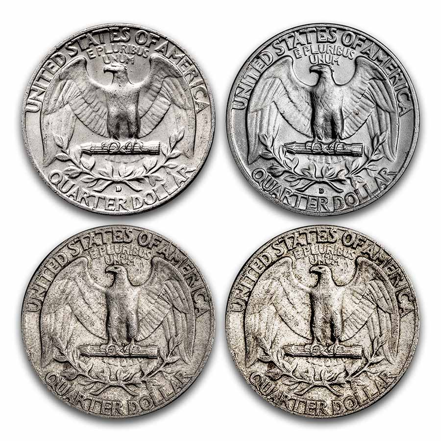 90% Silver Coins $1 Face Value Avg Circ