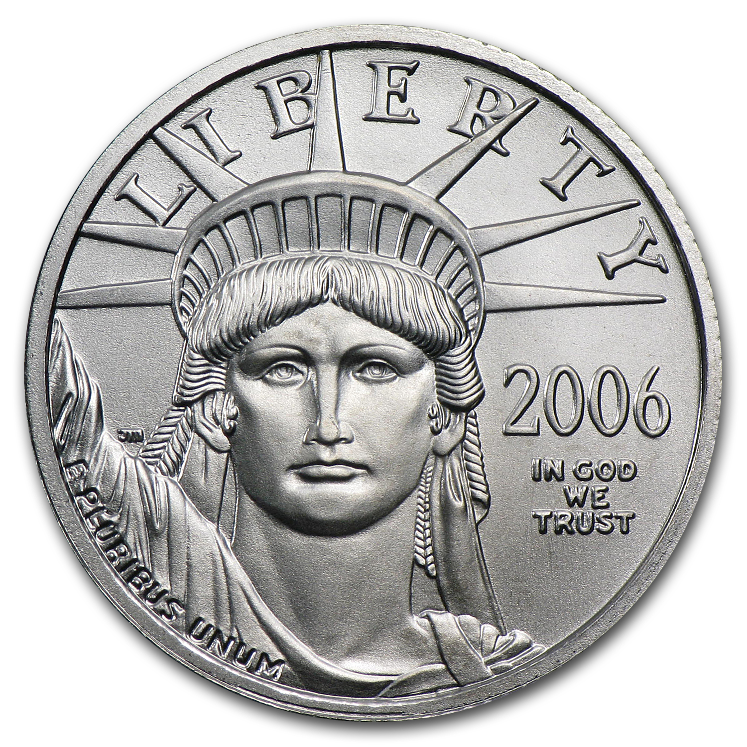 2006 1/4 oz Platinum American Eagle BU