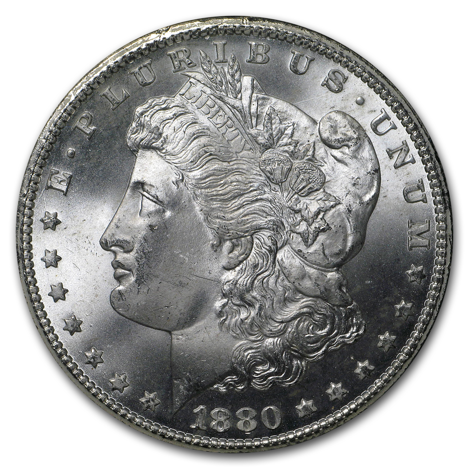 1880-CC Morgan Dollar MS-65 NGC (GSA)