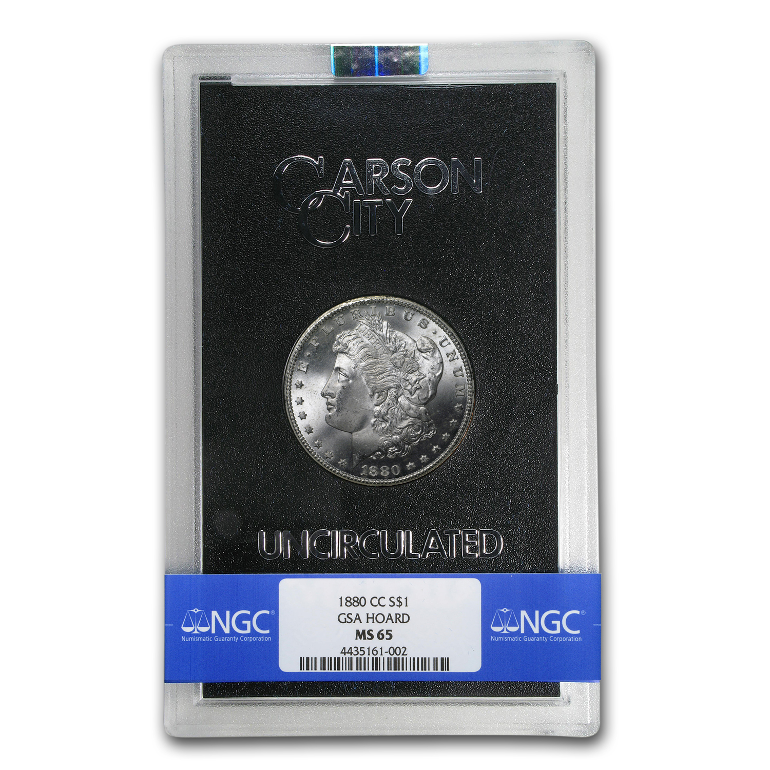 1880-CC Morgan Dollar MS-65 NGC - GSA Certified