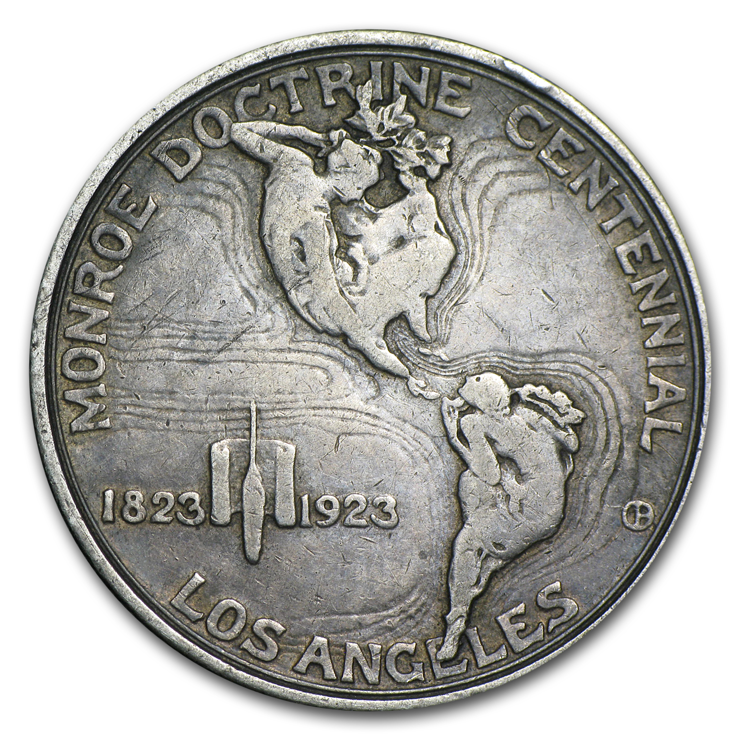 1923-S Monroe Doctrine - Average Circulated