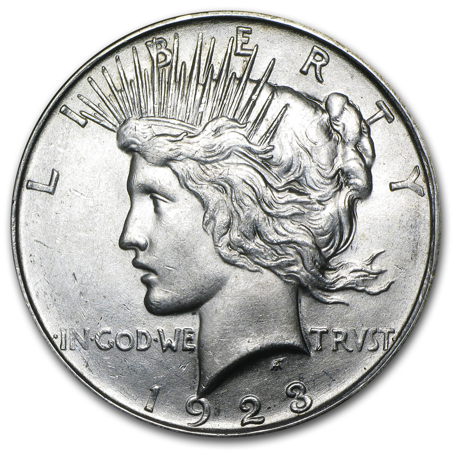 1923-D Peace Dollar - Brilliant Uncirculated