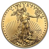 1 oz Gold American Eagle BU (Random Year)