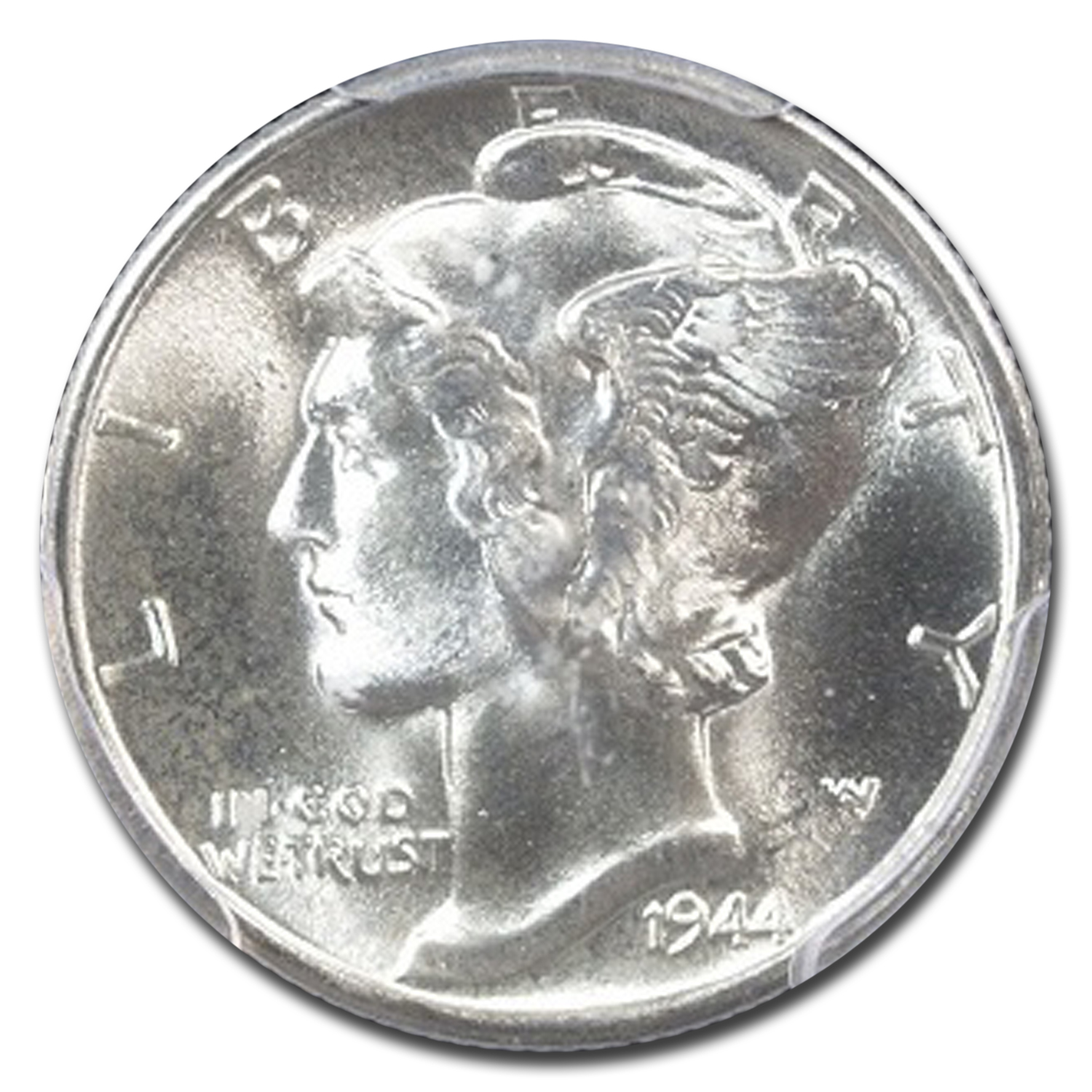 1944-D Mercury Dime MS-67 PCGS (FB)