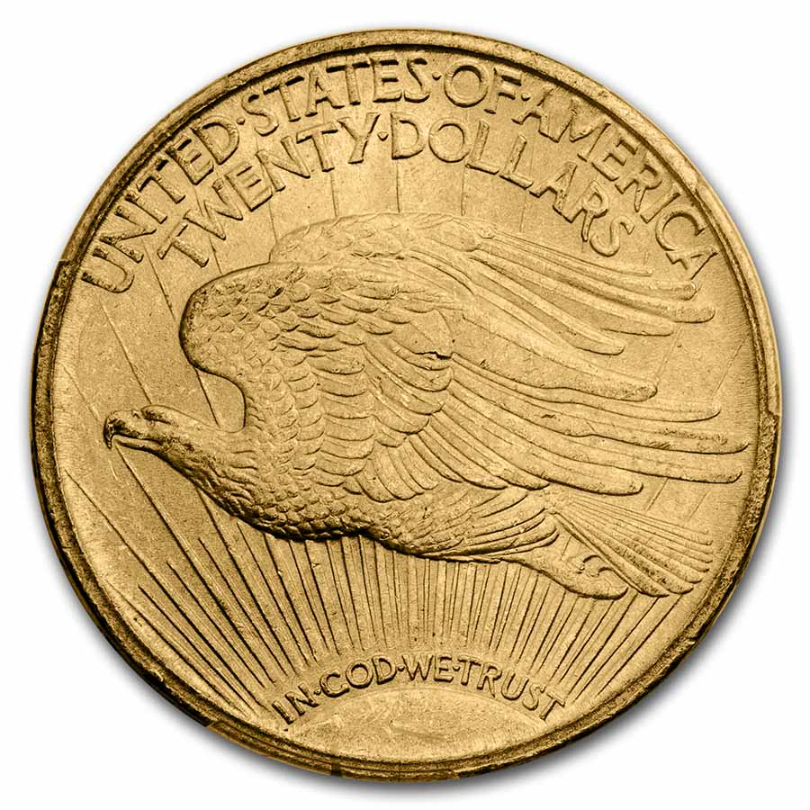 1910 $20 St. Gaudens Gold Double Eagle MS-64 PCGS