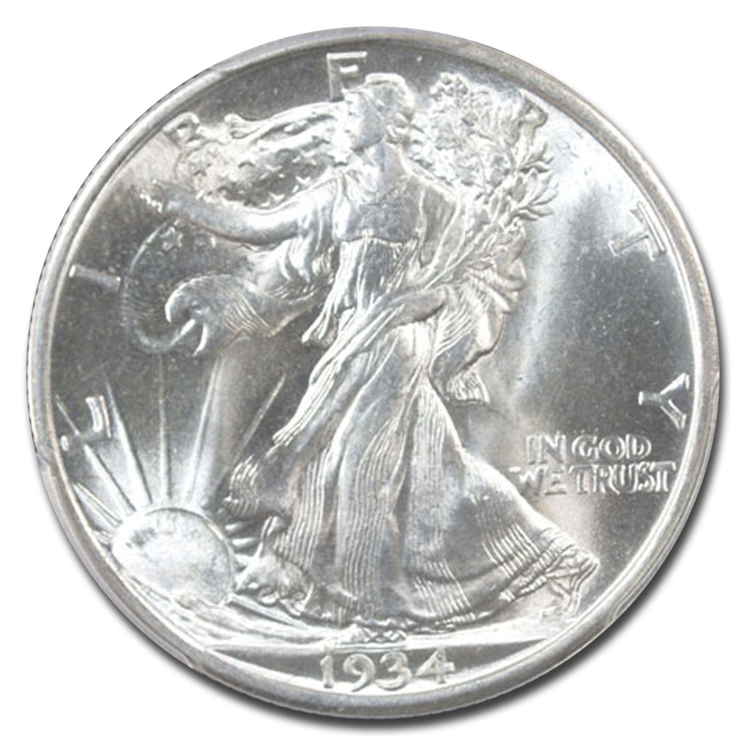 1934-D Walking Liberty Half Dollar MS-65 PCGS